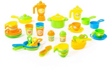 Rotaļu virtuves piederumi Wader-Polesie Kitchen Set 76410