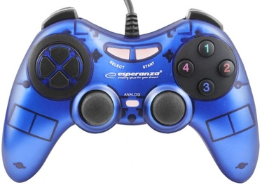 Esperanza Fighter USB Gamepad Blue