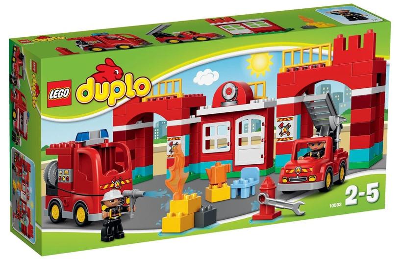 Конструктор LEGO Duplo Fire Station 10593 10593, 105 шт.