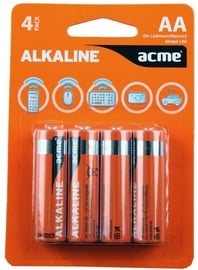 Acme Alkaline Batteries 4xAA