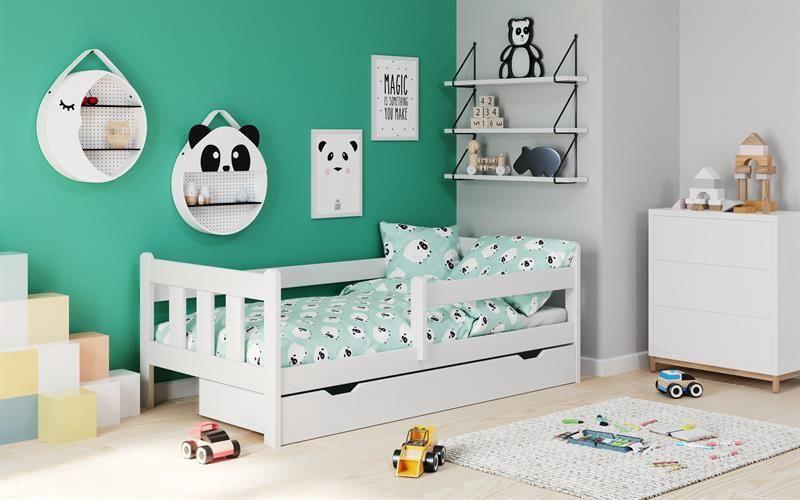 Детская кровать Halmar Marinella White, 164x88 см