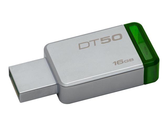 USB atmintinė Kingston DataTraveler 50 USB 3.0, 16 GB