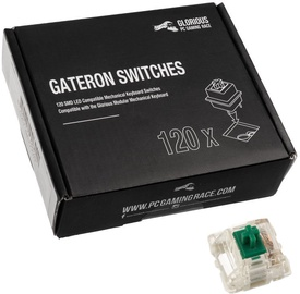 Glorious PC Gaming Race Gateron Green 120 Switches