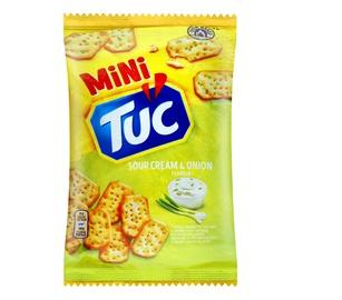 Krekeriai TUC Mini, su grietine ir svogūnu, 100 g