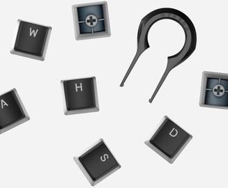 Kingston HyperX Double Shot PBT Keycaps