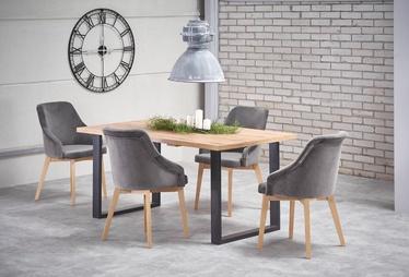 Pusdienu galds Halmar Venom Wotan Oak, 900x1600x740 mm