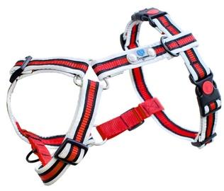 Dogcessories Reflective Anti Pull Plus Dog Harness L Red