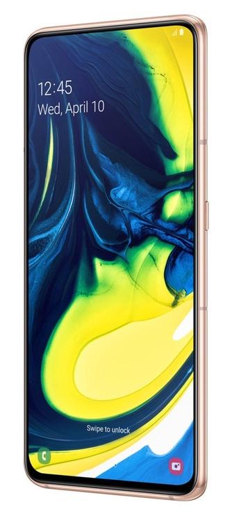 Mobilus telefonas Samsung SM-A805F Galaxy A80 Dual Gold