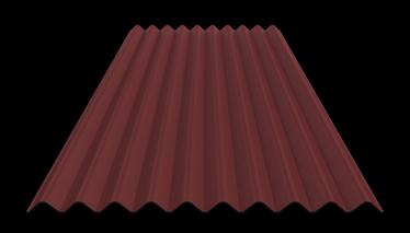 BITUMEN CORR SHEET K10 2X0.95 RED