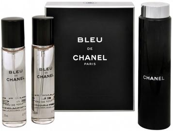 Kvepalai Chanel Bleu de Chanel 3x20ml EDT Travel Spray