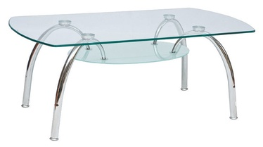 Signal Meble Arachne II Bench Tempered Glass
