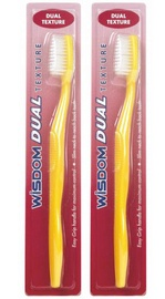 Wisdom Dual Texture Toothbrush M+H 2x