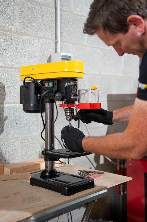 Powerplus Table Drill POWX153