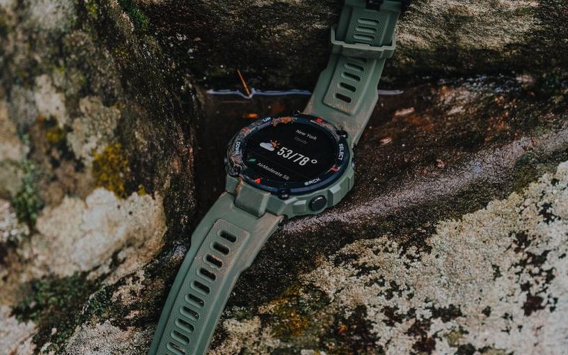 Išmanusis laikrodis Xiaomi Amazfit T-Rex Army Green