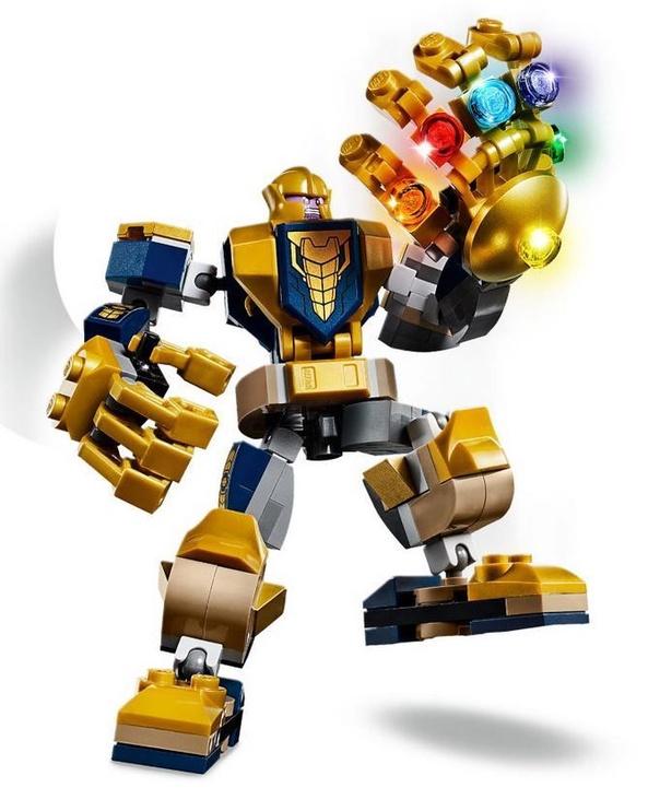 Конструктор LEGO Super Heroes Avengers Thanos Mech 76141 76141, 152 шт.