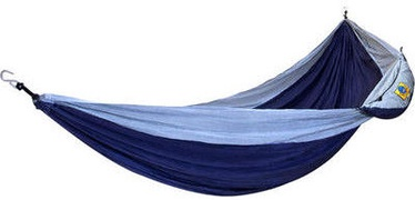 Ticket To The Moon Double Hammock Gray Blue