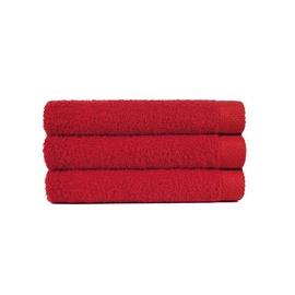 Vonios rankšluostis Lasa, raudonas, 70 x 140 cm