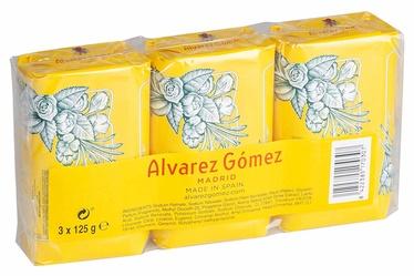 Alvarez Gomez Agua de Colonia Concentrada Soap 3 x 125g