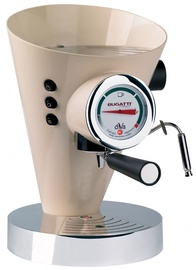 Bugatti Diva Espresso Coffee Machine 15-DIVAC Cream