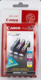 Rašalinio spausdintuvo kasetė Canon CLI-521 C/M/Y MultiPack