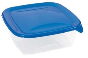 Curver Food Container Square 0,8L Fresh&Go Blue