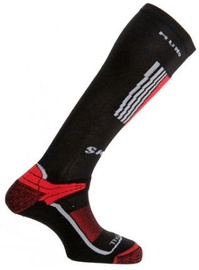 Zeķes Mund Socks Snowboard Black/Red, L, 1 gab.