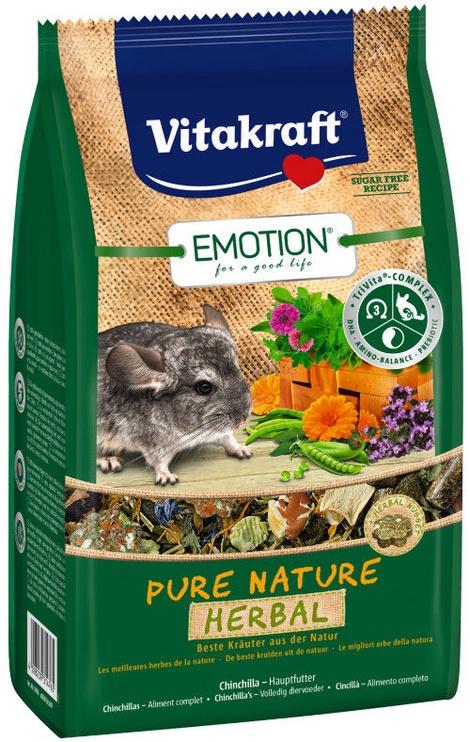 Vitakraft Emotion Pure Nature Herbal Chinchilla 600g
