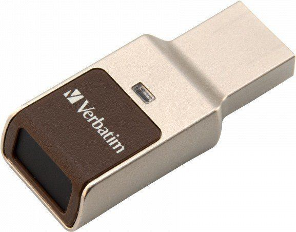 USB atmintinė Verbatim Fingerprint Secure, USB 2.0, 64 GB