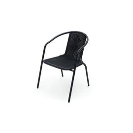 Sodo kėdė 313697, juoda