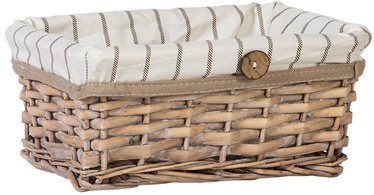 Home4you Basket Willi 5 26x18xH12cm Light Brown
