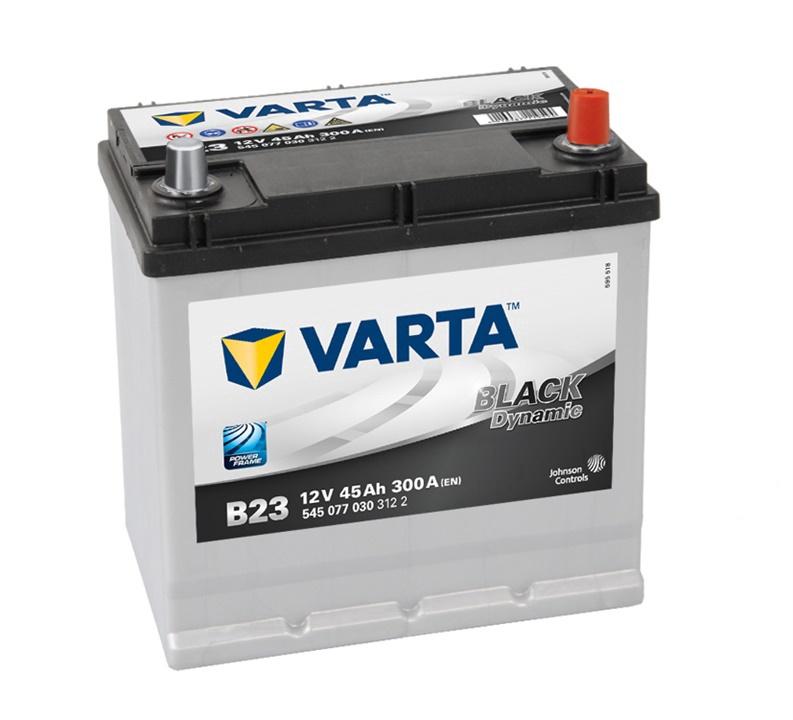 Аккумулятор Varta BD B23, 12 В, 45 Ач, 300 а