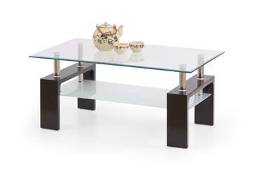 Kavos staliukas Diana Intro tamsiai rudas, 100 x 60 x 45 cm