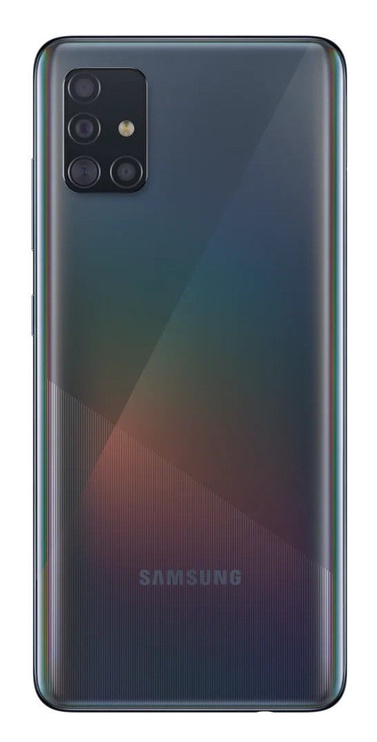 Mobilusis telefonas Samsung Galaxy A51, juodas, 4GB/128GB