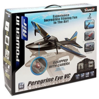 Silverlit RC Peregrine Eye VC Aeroplane With Video Camera