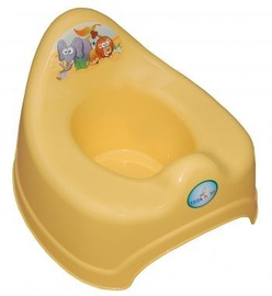 Tega Baby Safari Potty SF-001 Yellow