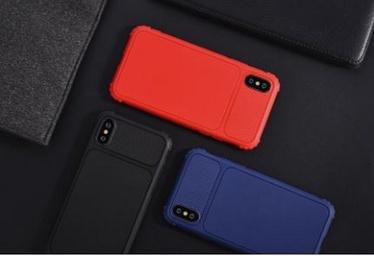 Чехол Devia Shark1 Shockproof iPhone XS Max, синий