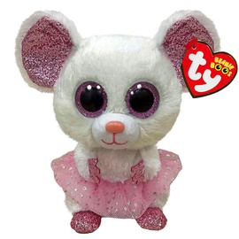 Плюшевая игрушка TY TY36365, белый, 15.5 см