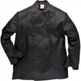 Viesnīcu Tekstils Chef Jacket Somerset M Black