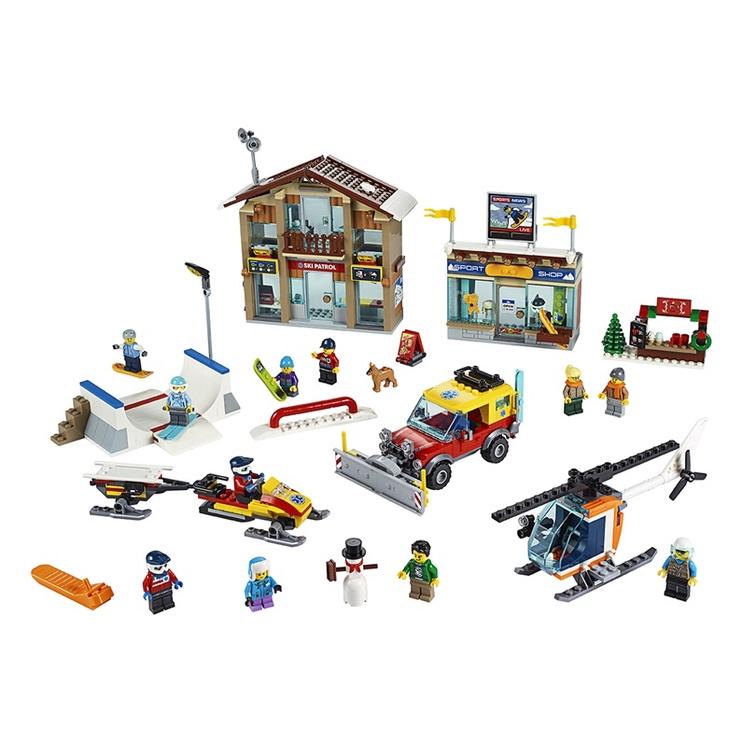 KONSTRUKTOR LEGO CITY SUUSA KUUROR 60203