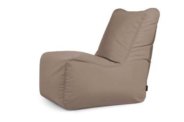 Кресло-мешок Pušku Pušku COLORIN TAUPE, коричневый/кремовый, 340 л