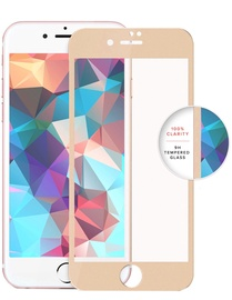 Swissten Ultra Durable Premium Screen Protector For Apple iPhone 7/8 Gold