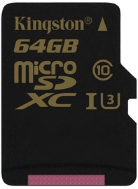 Kingston SDCG Series 64GB microSDXC UHS-I Class U3