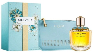 Набор для женщин Elie Saab Girl of Now 50 ml EDP + Handbag New Design