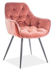 Valgomojo kėdė Signal Meble Cherry Velvet Pink 52