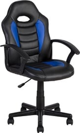 Home4you Work Chair Formula-1 Black / Blue 27442