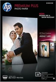 HP Photo Paper Plus Glossy 100 x 150mm 300g