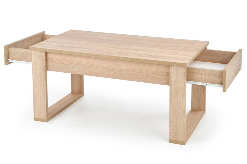 Kavos staliukas Halmar Nea, ąžuolo, 1100x600x520 mm
