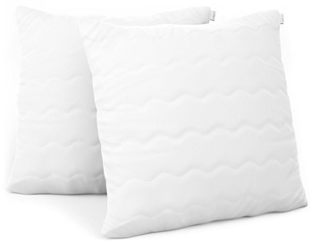 AmeliaHome Reve Pillow Set White 50x50cm 2pcs