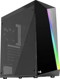Aerocool Shard Tempered Glass RGB ATX Mid-Tower Black