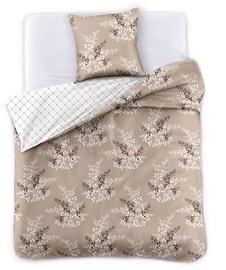 Gultas veļas komplekts DecoKing Hypnosis, smilškrāsas, 135x200/50x75 cm